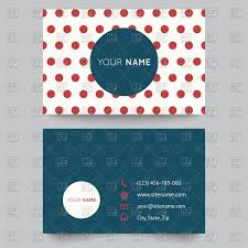 blank simple business card templates vector image 16415 u2013 rfclipart