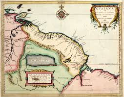 Spanish Map Of South America by The Guianas Wikipedia