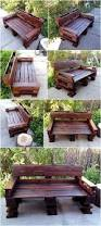 garden bench made with reused wood pallets wood pallet furniture