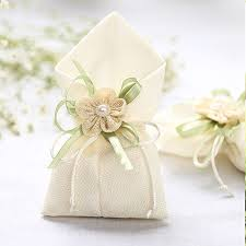 engagement favors 50x linen ivory wedding favors and gifts bags for guests birthday