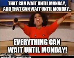 Sydney Meme - it can all wait till monday cos tonight swing pit sydney