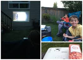 end summer with a backyard drive in movie