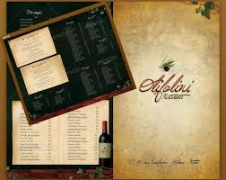 mouth watering restaurant menu designs entheos