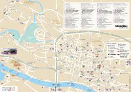Map Scotland Glasgow Shopping Map Glasgow City Centre Shopping Map Scotland