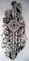 74 best tattoo images on pinterest viking tattoos nordic tattoo