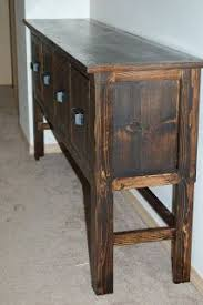 Diy Console Table Plans by 7 Best Console Table Images On Pinterest Console Tables