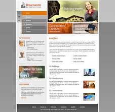 flash website templates for construction company