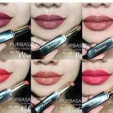 Lipstik Purbasari Nomor 90 swatches lipstik purbasari the of
