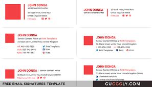 best u0026 professional email signatures template esignatures gugggly