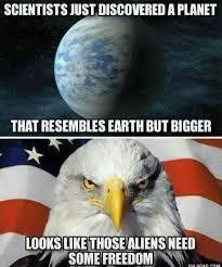 Freedom Meme - aliens need freedom too the vineyard of the saker