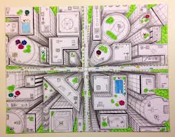 bright lights big city inspiration urban sketching tutorial