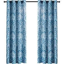 Multi Color Curtains Blue Multi Color Curtains Wayfair