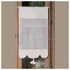 rideaux de cuisine et blanc rideau brise bise blanc élia décoration cuisine cosy