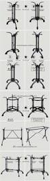 Iron Table Base Antique Cast Iron Table Base Wrought Iron Metal Table Legs Table