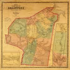 Massachusetts Town Map by File Map Of The Town Of Braintree Norfolk County Massachusetts
