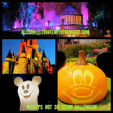 halloween usa locations mickey u0027s not so scary halloween party magical mouse planner