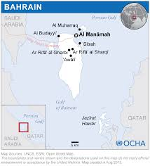 Map Of Bahrain Bahrain Reliefweb