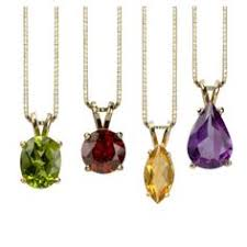 Choose The Simple But Elegant Bezel Set Gemstone Pendant These Simple But Elegant Necklaces Are