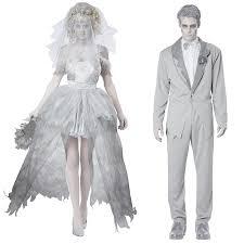 Halloween Costumes Bride Groom Aliexpress Buy Halloween Costume Men Ghost Groom Vampire