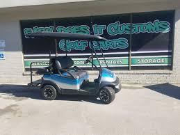 2012 electric club car precedent golf cart teal fade easy
