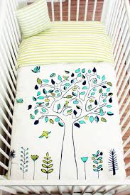 Organic Baby Bedding Sets by Apple Tree Crib Bedding Set Organic Cotton Baby Bedding Edelekids