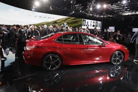 is toyota american as camry gets redesigned reign as top us car is in jeopardy