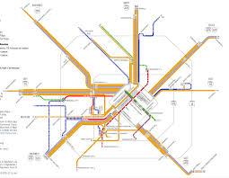 Houston Metro Rail Map by Not Of It Metro Houston U0027s New Bus Network System Maps