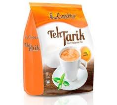 Teh Wmp chek hup teh tarik 3 in 1 malaysian milk tea less
