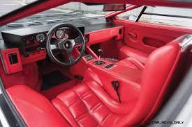 lamborghini jeep interior 1988 5 lamborghini countach 5000 qv in bianco white is as new