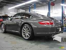 porsche slate gray metallic 2007 porsche 911 carrera 4s coupe in slate grey metallic photo 4