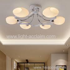 modern guest bedroom ceiling lamp room glass led ceiling lights