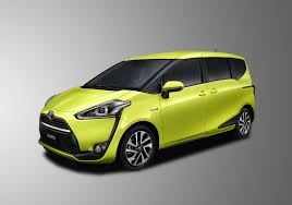 toyota japan all new toyota sienta compact minivan unveiled in japan