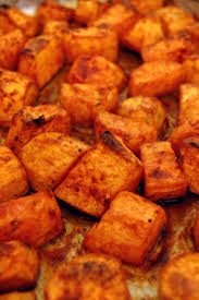 sweet potato thanksgiving side dish roasted sweet potatoes with honey and cinnamon kitchme