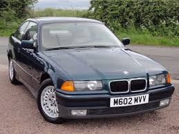 bmw e36 320i coupe manual m reg left hand drive 88k
