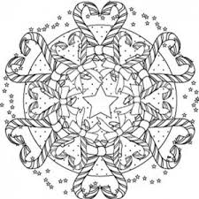 mandala christmas angels coloring pages place color