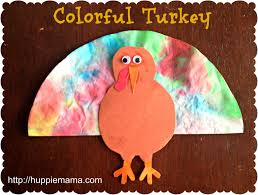 colorful turkey thanksgiving craft for kids thanksgiving ideas
