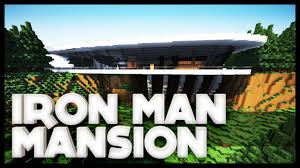 iron man malibu house minecraft iron man mansion stark mansion youtube
