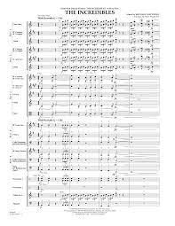 the incredibles wedding band murtha the incredibles sheet complete collection for