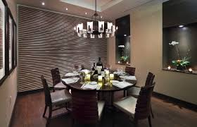 modern dining room ceiling ideas with damask glass art also