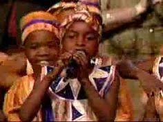 ndyahimbisa mukama teach me to dance african children u0027s choir