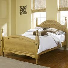 Thompson Furniture Bloomington Indiana by Lang Oak Creek King Wood Post Bed With Decorative Applique Ahfa