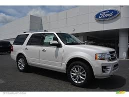 2017 white platinum ford expedition limited 4x4 115164514
