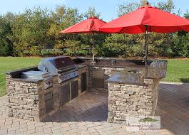 outdoor kitchen backsplash custom built outdoor kitchens 2012 u shape kitchen with