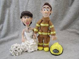 firefighter figurines unique wedding cake topper figurine canada firefighter raegan s
