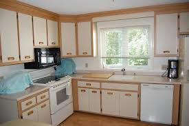 How To Paint Oak Kitchen Cabinets Painted Oak Cabinet Kitchen Remodel And No Its Not White Painting