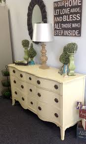 Bedroom Furniture Painted With Chalk Paint Antique Dresser Painted In Cream Chalk Paint Decorative Paint