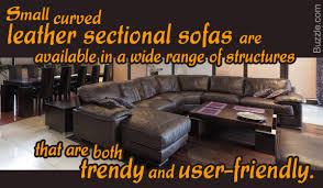 Curved Sectional Sofa With Recliner by Small Sectional Sofas Leather Curved Sectional Sofas