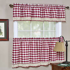buffalo check curtains ebay