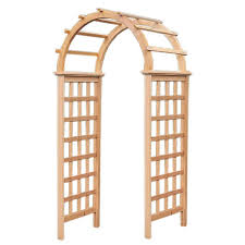 dura trel arbors u0026 trellises garden center the home depot
