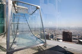 braving glass skyslide at us bank tower u0027s skyspace